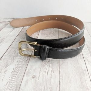 ☕Leather belt made in italy